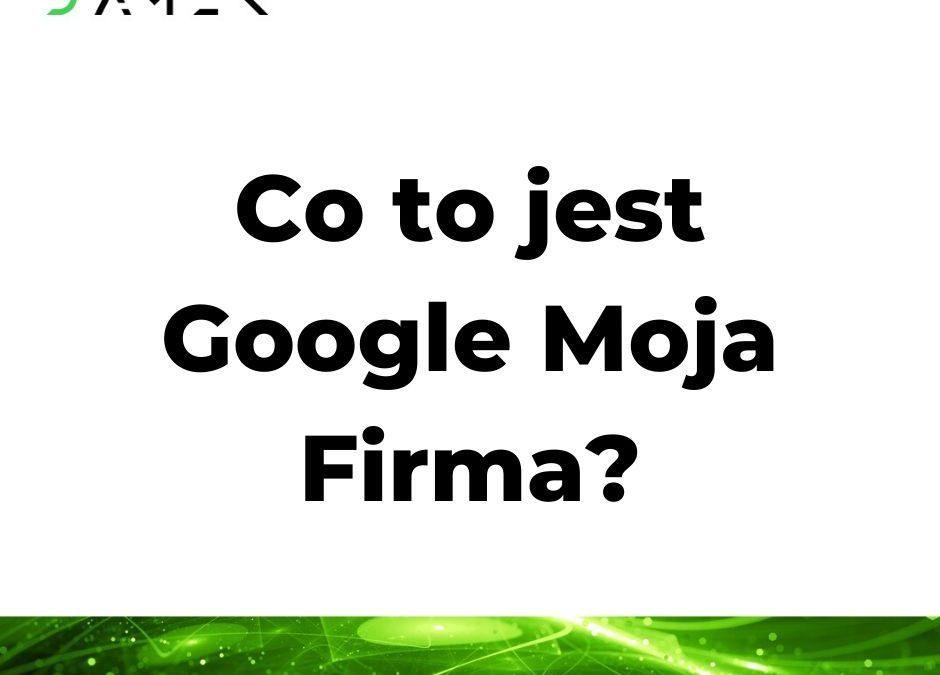 Co to jest Google Moja Firma