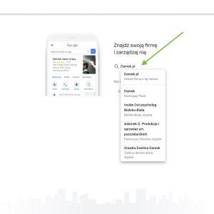 [02] Jeśli na liście znajduje się już Twoja firma - wybierz ją, jeśli nie - to utwórz nową wizytówkę