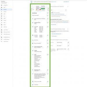 Google Moja Firma - Informacje