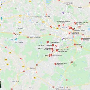 Wyszukiwanie w Google Maps