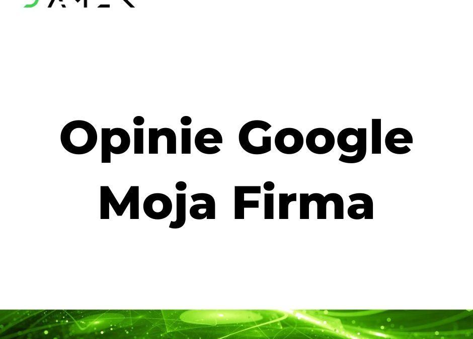 Opinie Google Moja Firma