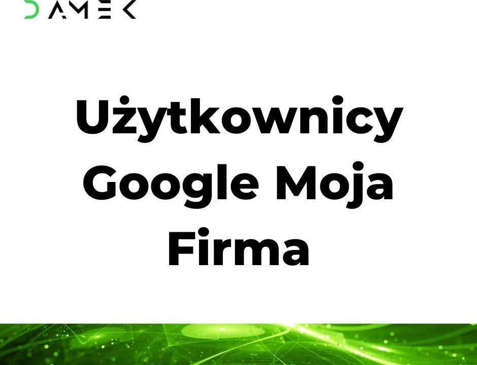 Użytkownicy Google Moja Firma